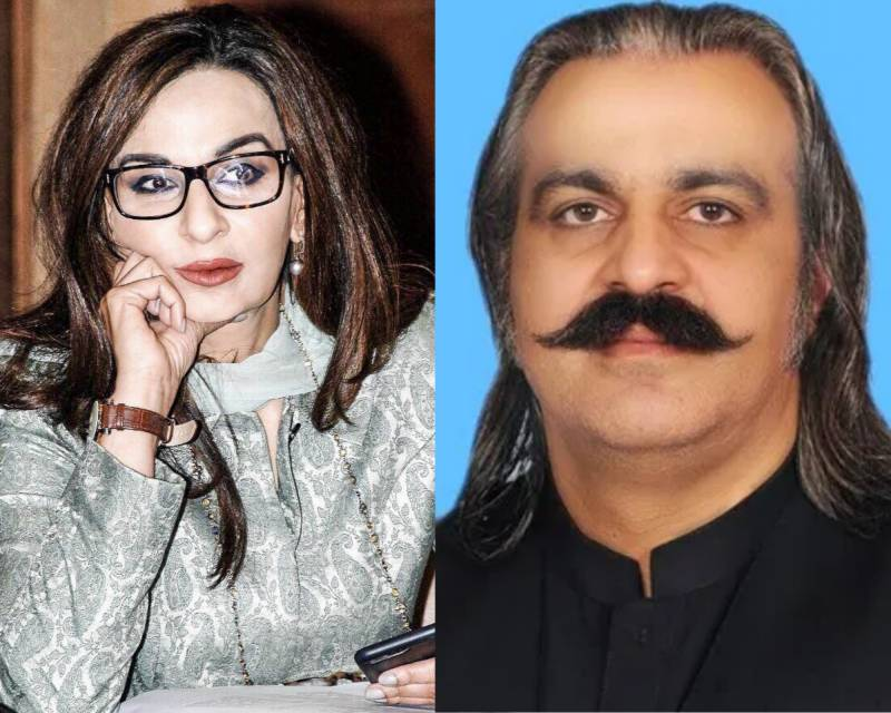 Sherry Rehman accuses Gandapur of violating rules in GB elections