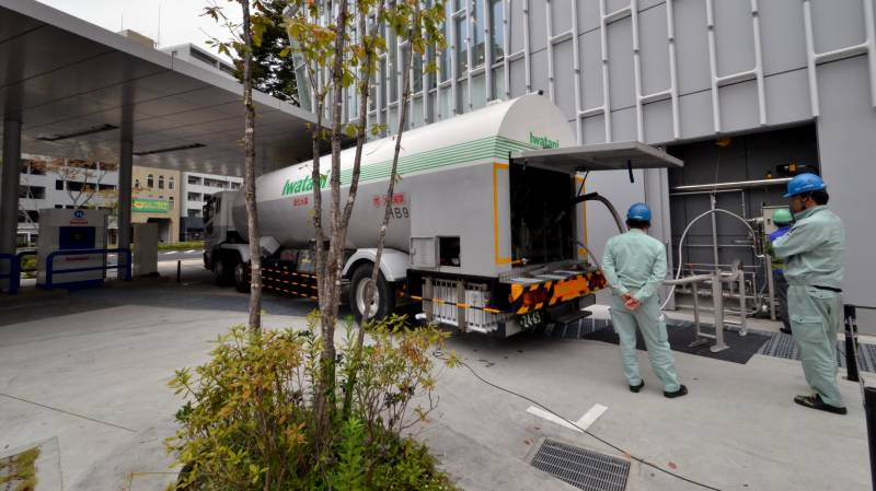 Japan carbon pledge boosts hopes of ammonia backers