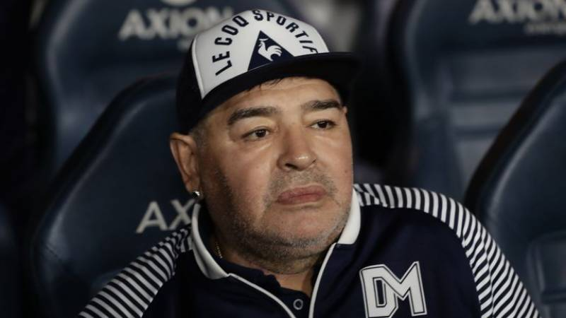 Maradona admitted to hospital in Argentina