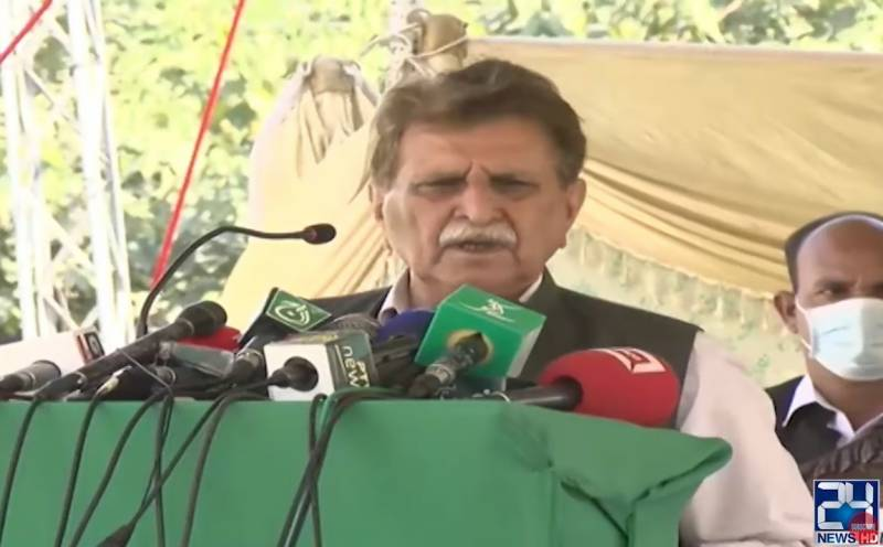 Pakistan alone cannot take decision about GB province: AJK PM