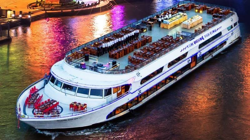 All aboard: Singapore 'cruise to nowhere' sets sail