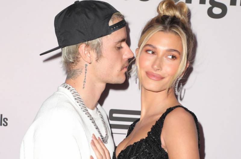 Hailey Bieber reacts to pregnancy rumours