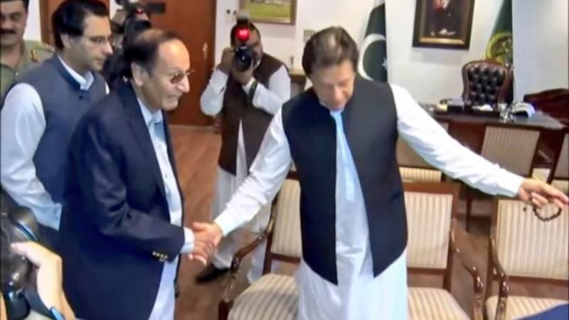 PM Khan telephones Ch Shujat, inquires about his health