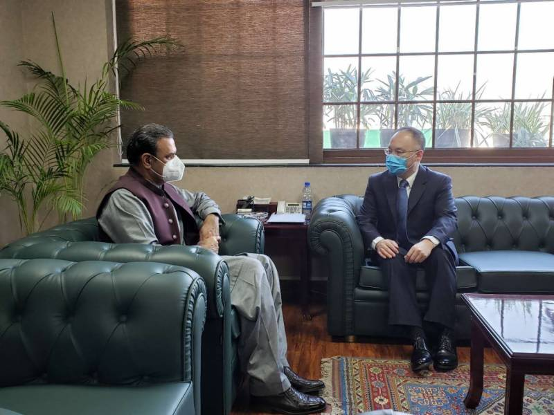 Chinese envoy Nong Rong sees 'great potential' in CPEC Phase-II