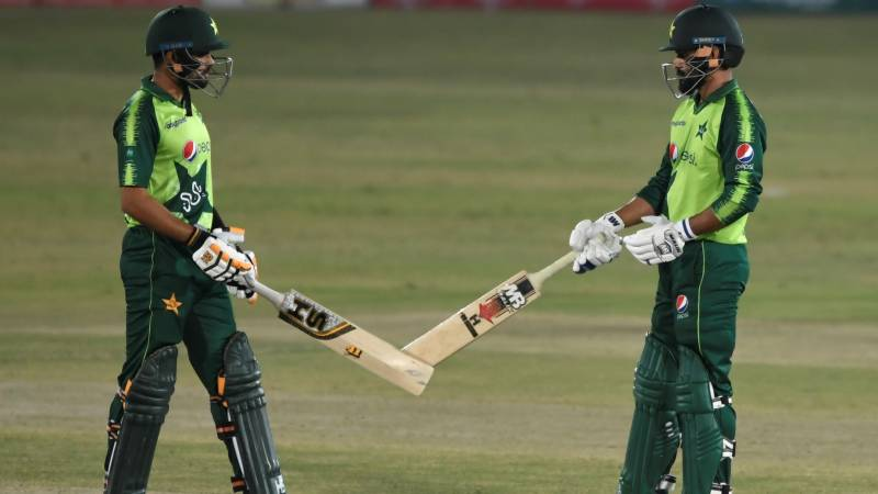 Babar Azam leads Pakistan's rout of Zimbabwe in first T20