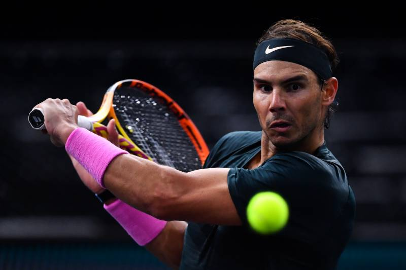 Nadal into Bercy last four as Schwartzman qualifies for Tour Finals