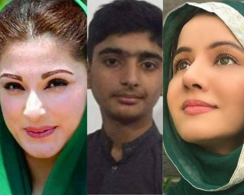 Maryam hails her young fan for a portrait which breaks Rabi Pirzada's heart