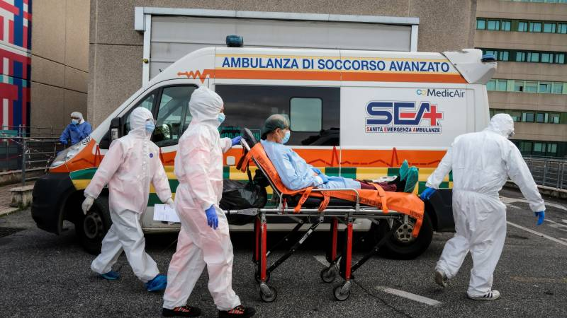 Rome hotels swap tourists for Covid patients