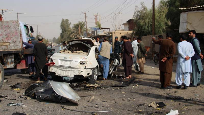 Afghan journalist for US-funded radio killed in bombing