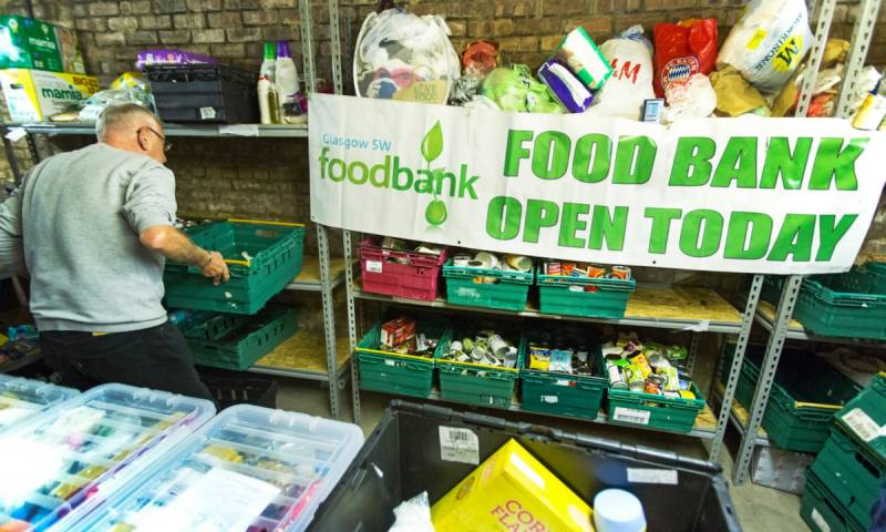 UK food bank use reached record levels, says charity