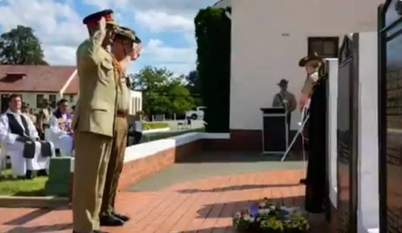 Australian RMC holds special memorial service for martyred Lt Nasir