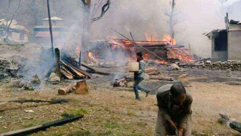 Indian Army targets Pakistani civilians after Kashmiri fighters kill 4 soldiers