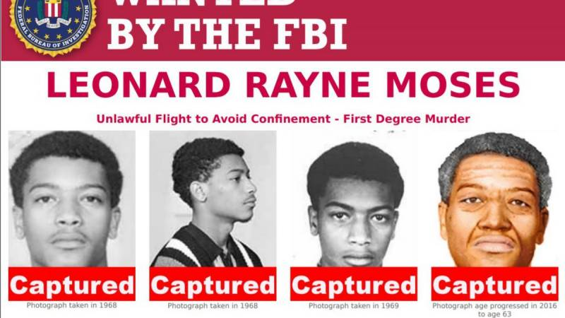 FBI get their man, after almost 50 years on the run