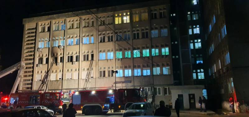 10 Covid patients die in Romania hospital fire