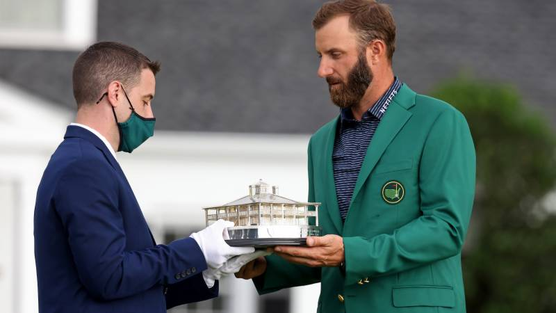 Tearful Johnson captures Masters for second major title
