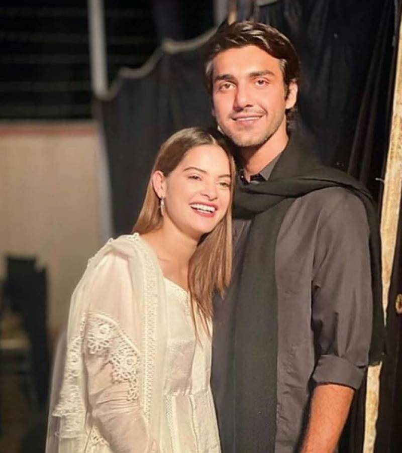 Minal and rumoured beau Ahsan Mohsin spotted together at Qawwali night