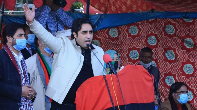My election has been stolen: Bilawal joins GB people protest
