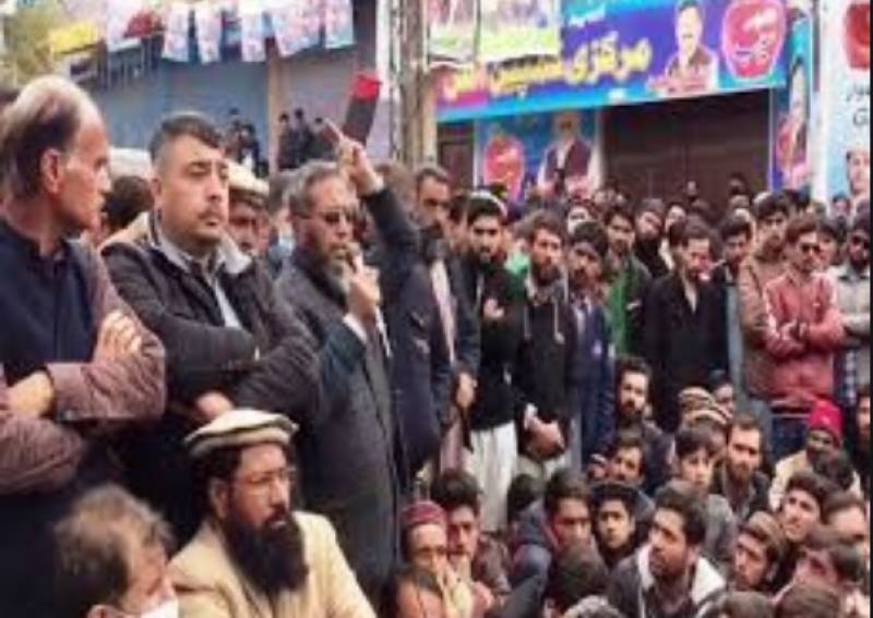 PPP sit-in against rigging continues in Gilgit