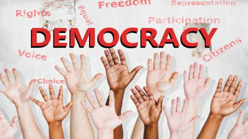 Democracy, like charity, begins at home