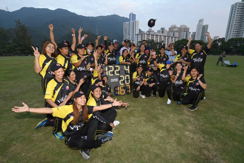 Domestic workers take Hong Kong cricket by storm