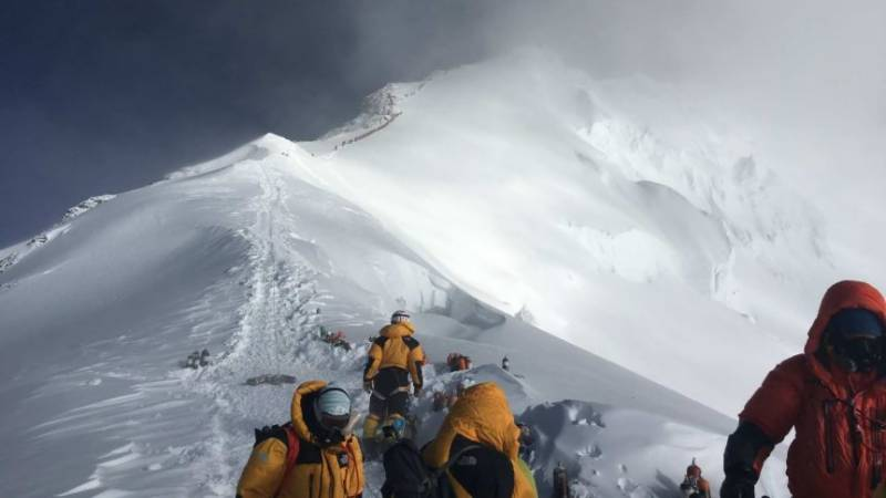 Researchers find microplastics on top of the world at Everest