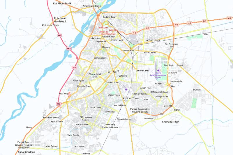 Bureaucracy starts working on how to divide Lahore into two admn units