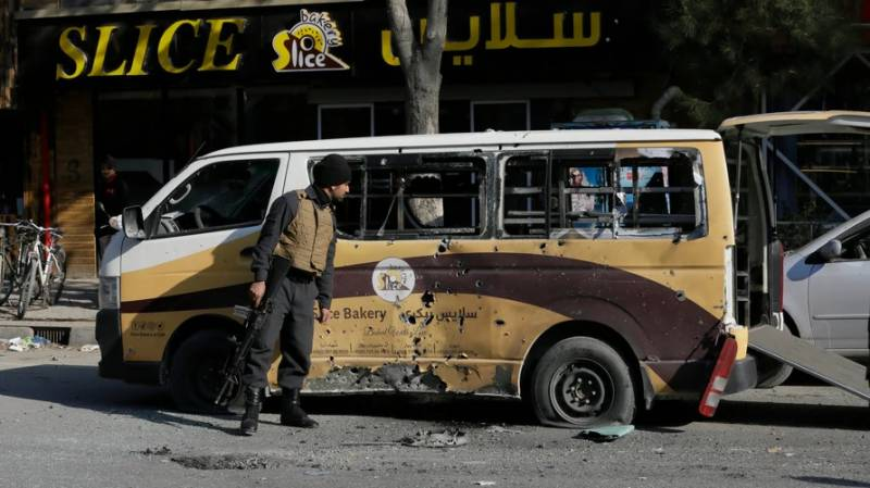 IS-claimed rocket attack on Kabul kills eight