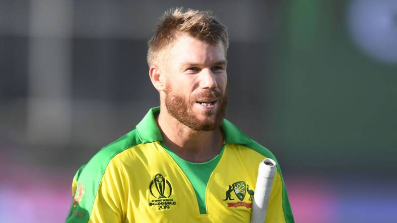 Humble' Warner says he won't respond to India taunts