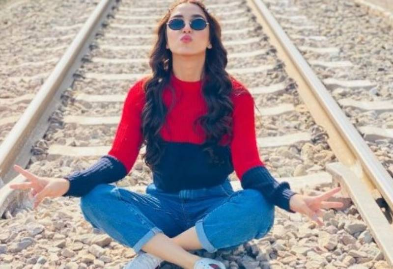 Maya Ali's picture on railway track goes viral