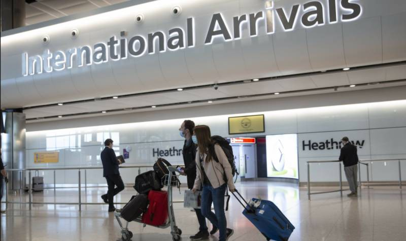 England to cut quarantine for travellers from abroad