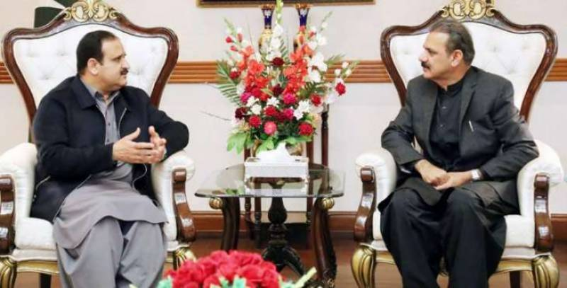 Lahore to have CPEC Tower, Buzdar, Bajwa agreed