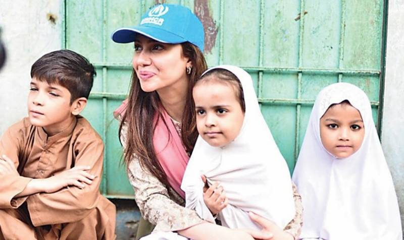 Mahira Khan raises voice for Afghan refugees