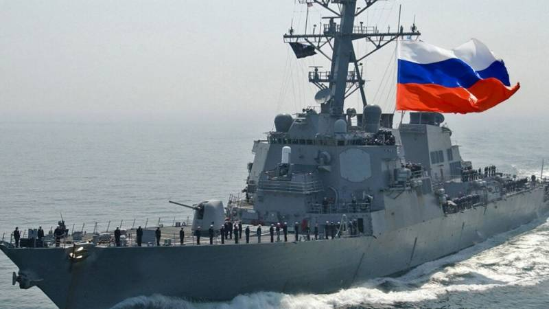 Russia says chased off US warship in its Pacific waters
