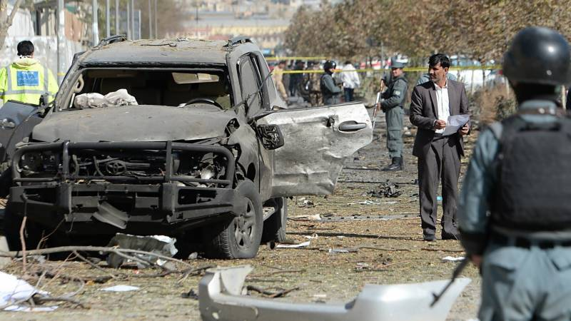 Two blasts kill at least 14 in central Afghan province