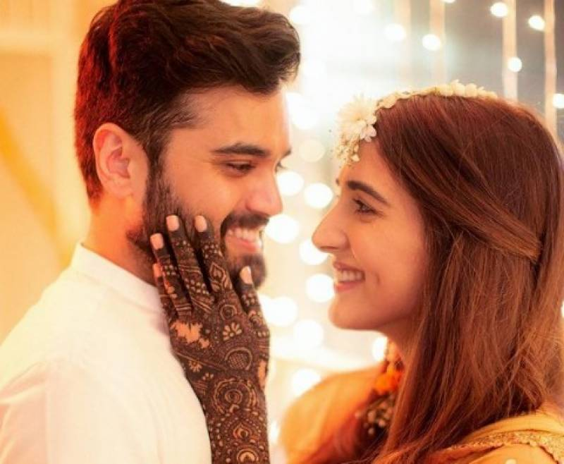 Actress Rabab Hashim ties the knot
