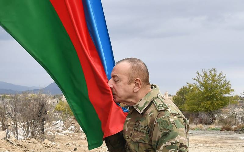 Azerbaijan army moves into second district handed back by Armenia