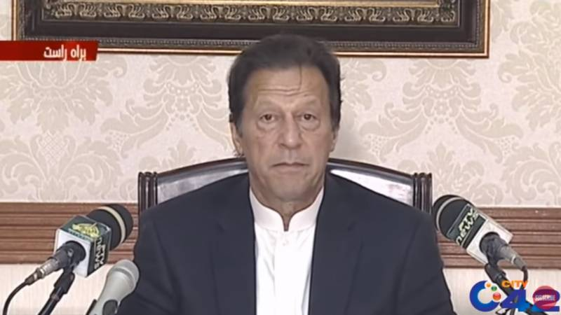 Don't play with people's lives with gatherings: Imran to opposition