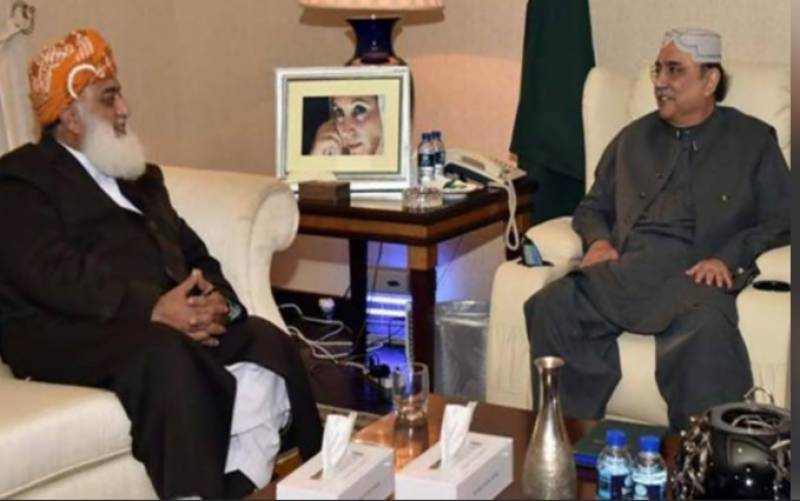 Asif Zardari suggests Fazl to review PDM strategy