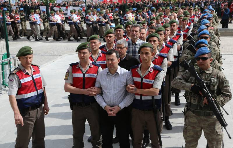 Hundreds face life in prison in trial over Turkey's 2016 coup