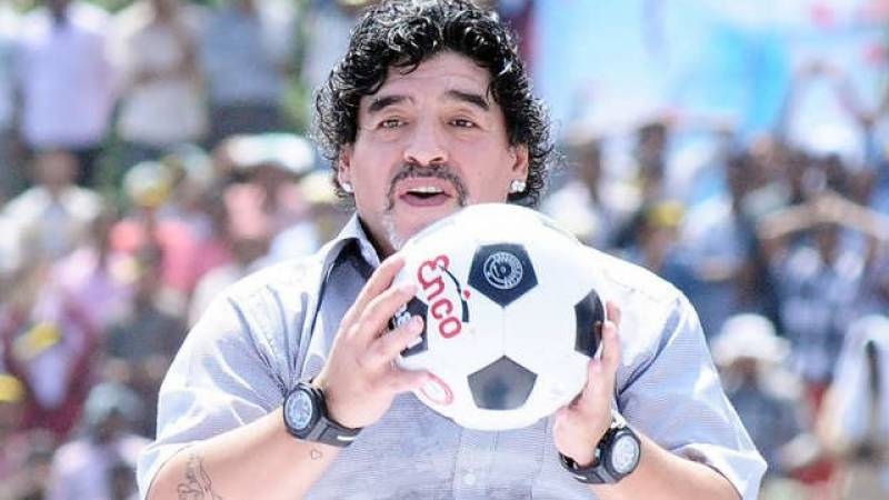 Maradona to lie in state at presidential palace: presidency