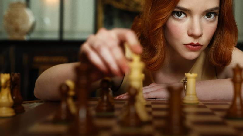 Queen's Gambit accepted: Hit show sparks chess frenzy