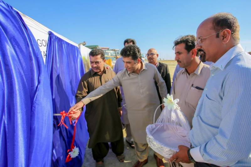Gwadar's first golf course inaugurated at China Pak Golf Estates