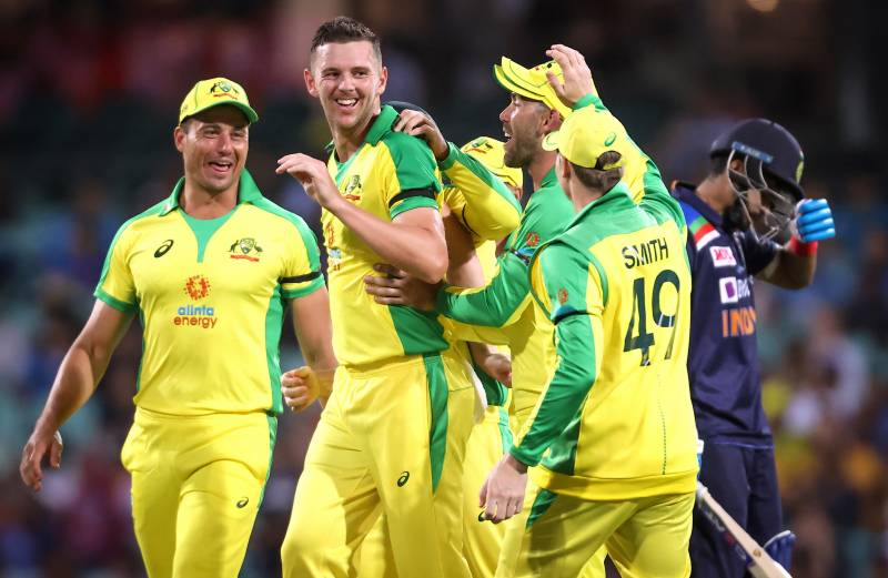 Aussies crush India in first ODI