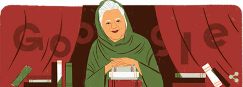 Google doodle honours Pakistani playwright Bano Qudsia