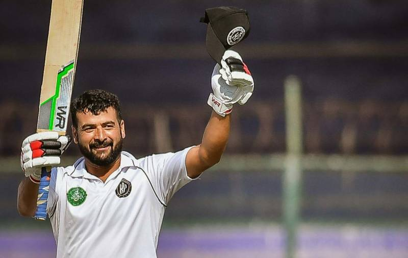 Umair Masood's maiden first-class ton sets 390-run target for Khyber Pakhtunkhwa