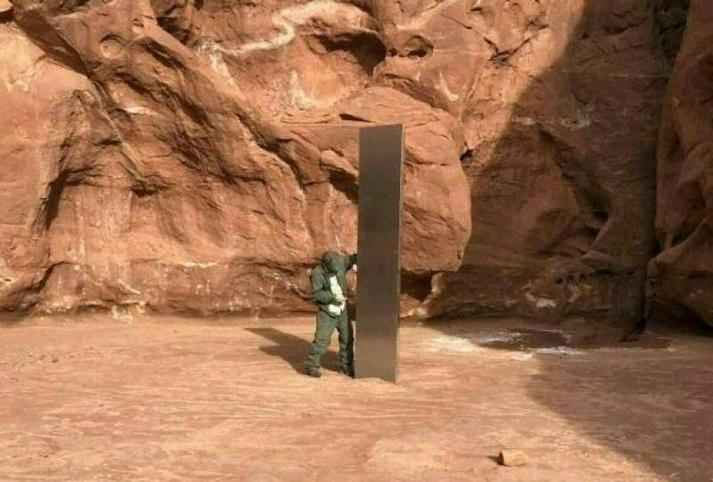 Mysterious monolith in US desert reportedly disappears