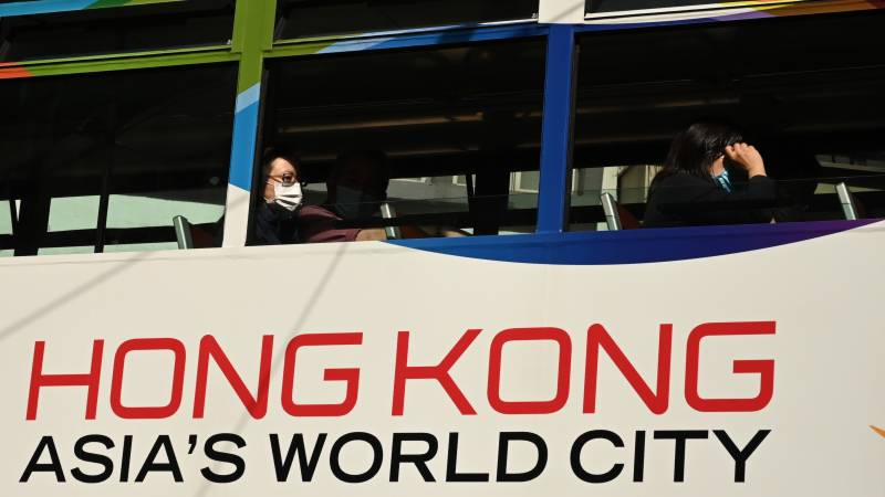 Hong Kong reimposes strict social distancing as fourth wave strikes