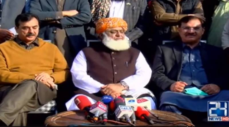 All eyes are on Lahore, PDM to make future decisions on Dec 8: Fazl