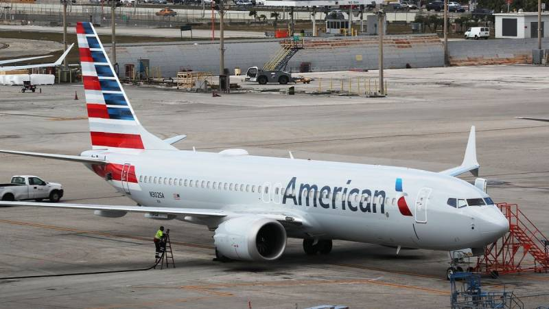 American Airlines Boeing 737 MAX flight aims to reassure