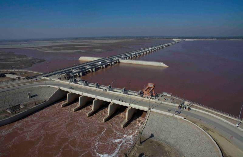 Indian water aggression continues against Pakistan